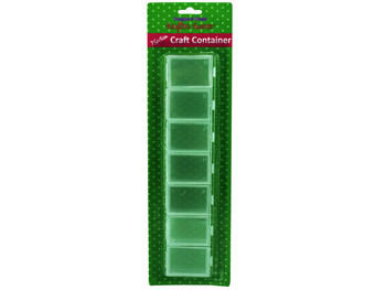 Seven Section Craft Container (pack of 12)