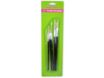 Acrylic Artist Brushes Set (pack of 24)