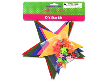 Do-It-Yourself Foam Star Craft Kit (pack of 12)
