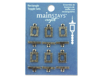 Rectangle toggle sets (pack of 24)