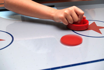 "2.5"" Mini Air Hockey Pucks, 2-pack"