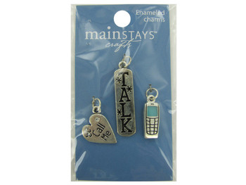 Cell Phone Enameled Charms (pack of 24)