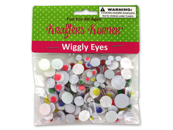 Wiggly Eyes (pack of 12)