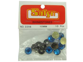Blue Rhinestones (pack of 24)