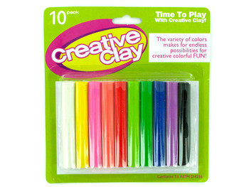 Creative Modeling Clay (pack of 12)
