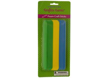 Foam Craft Sticks Set (pack of 24)
