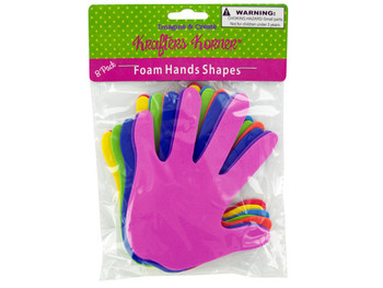 Foam Craft Hands (pack of 24)