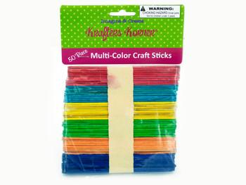 Multi-Color Craft Sticks (pack of 25)