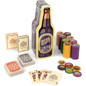 Beers & Bluffs Poker Chip Set