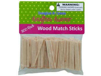 Wood Craft Matchsticks (pack of 25)