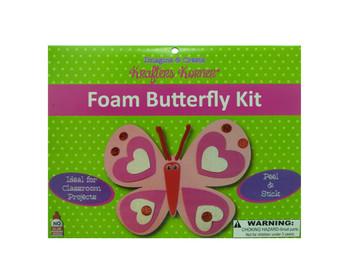 Foam Butterfly Kit (pack of 24)