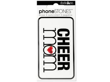 Cheer Mom Phone Stones Sticker (pack of 24)