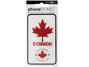 O Canada! Phone Stones Stickers (pack of 24)