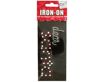 'Dear Santa' Rhinestone Iron-On Transfer (pack of 24)