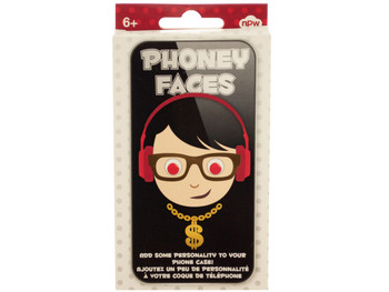 Phoney Faces Phone Stickers (pack of 24)