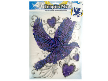 Iron-On Religious Dove Transfer (pack of 30)