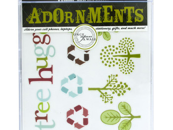 Nature Craft Adornment Stickers (pack of 24)