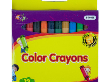 Color Crayons Set (pack of 24)