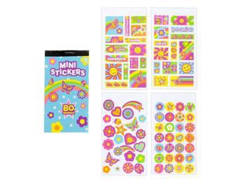 Girl Theme Mini Sticker Book Clip Strip (pack of 36)