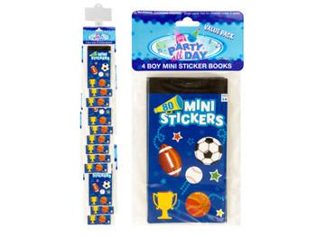 Boy Sports Mini Sticker Book Clip Strip (pack of 36)