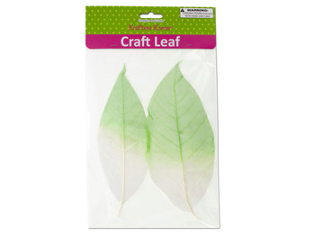 Dyed Natural Craft Leaves (pack of 20)