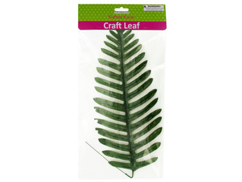 Tropical Craft Leaf with Wire Stem (pack of 20)