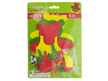 DIY Craft Foam Teddy Bear Kit (pack of 20)