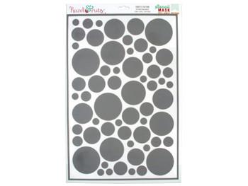 Confetti Pattern Stencil Masks (pack of 18)