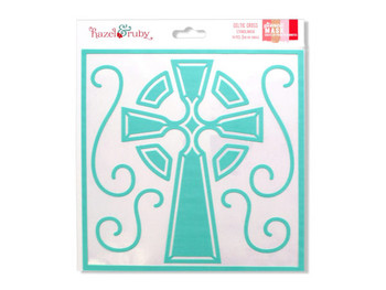 Celtic Cross Stencil Mask (pack of 24)