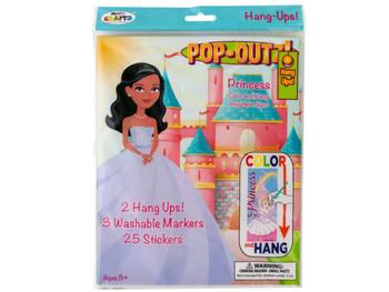 Princess Pop-Outz Hang Ups Activity Set (pack of 20)