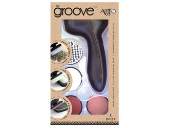 Cordless Groove Art Tool with Interchangeable Tips (pack of 12)