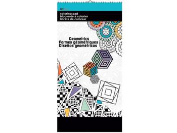 Geometrics Small Coloring Pad (pack of 24)