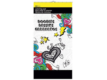 Doodles Small Coloring Pad (pack of 24)