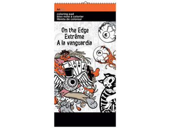 On the Edge Small Coloring Pad (pack of 12)