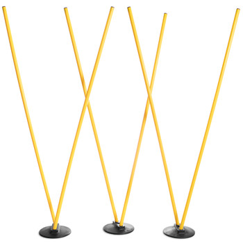 6 Agility Poles with 3 Bases