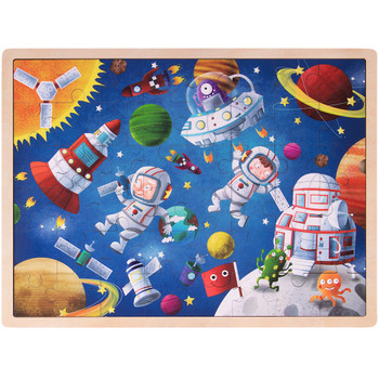 Ollie and Mr. Noodle: Adventurous Astronauts Jigsaw Puzzle