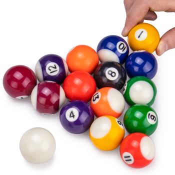 Mini Pool Balls