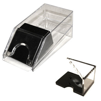 2-Deck Blackjack Shoe and Discard Tray