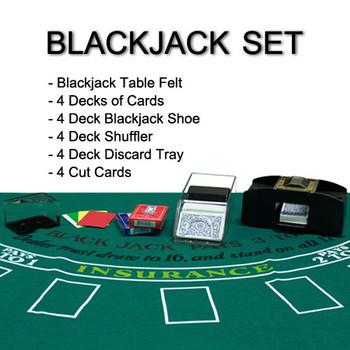 4 Deck Blackjack Set
