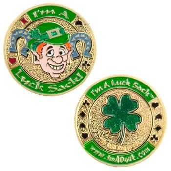 I'm a LuckSack! Medallion