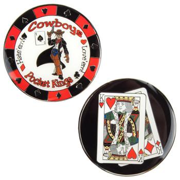 Cowboys (KK) Medallion - Pocket Kings