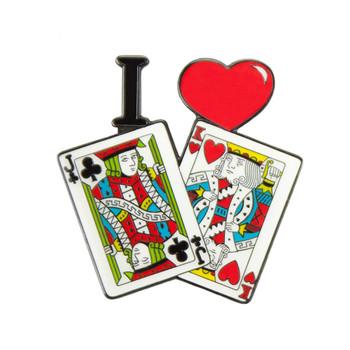 I Love Jack King Off Suit Card Guard