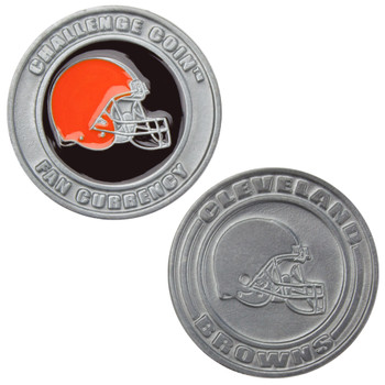 Challenge Coin Card Guard - Cleveland Browns