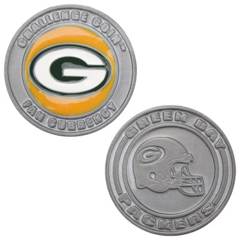 Challenge Coin Card Guard - Green Bay Packers