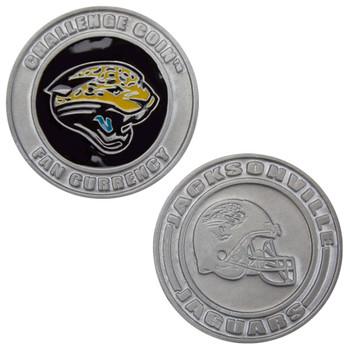 Challenge Coin Card Guard - Jacksonville Jaguars
