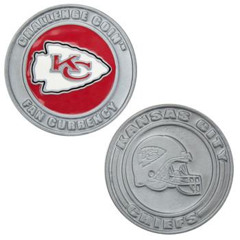 Challenge Coin Card Guard - Kansas City Chiefs