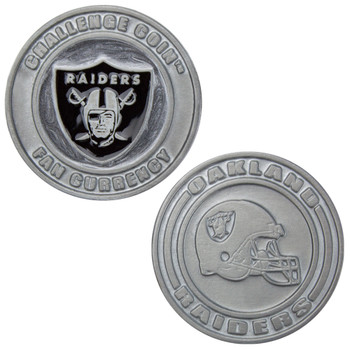 Challenge Coin Card Guard - Oakland Raiders