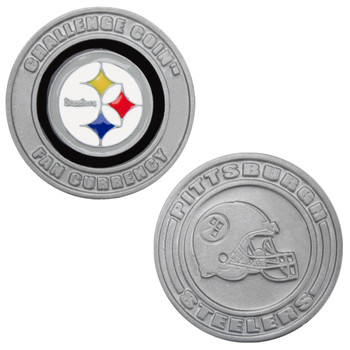 Challenge Coin Card Guard - Pittsburgh Steelers