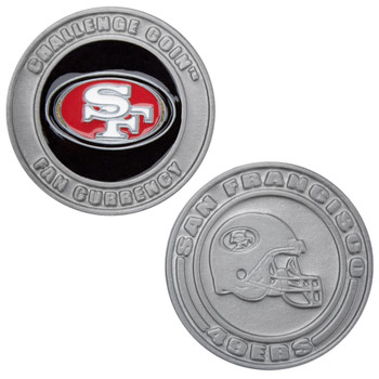 Challenge Coin Card Guard - San Francisco 49ers