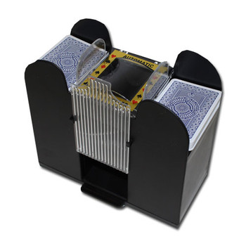 6 Deck Automatic Card Shuffler - Battery-Operated